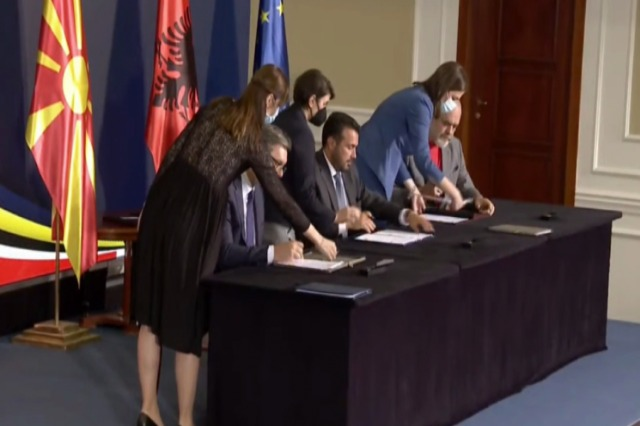 """""""Open Balkans"""" is finalized / The Rama-Vucic-Zaev agreement becomes official"""