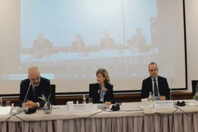 """Edi Rama at the OSCE conference on """"Journalism in times of crisis"""""""