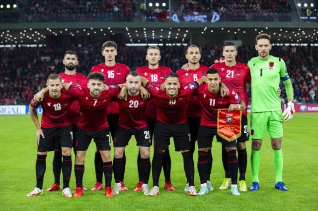 L'équipe nationale albanaise progresse de 3 positions au classement FIFA