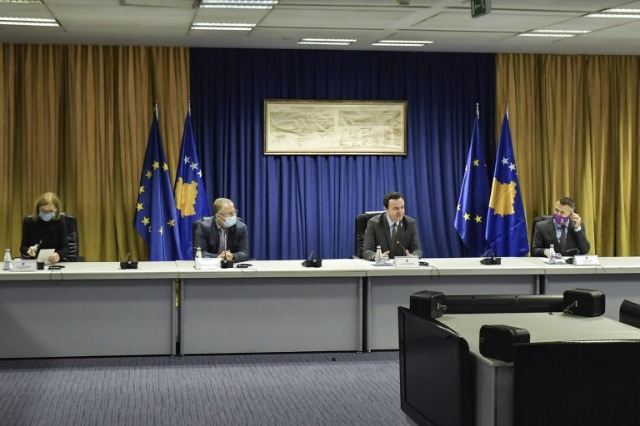 Kurti meeting with EP representatives: We enter into dialogue with Serbia only if it recognizes Kosovo, there is no other alternative