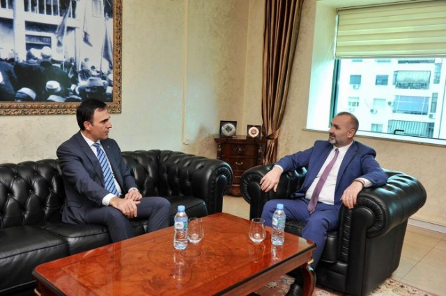 Manja meets with Attorney General; Focus on deepening justice reform