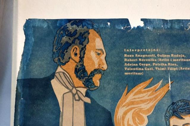 Arnavut filmlerinin orijinal afişleri restore edildi