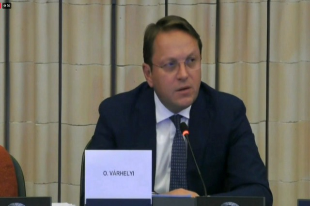 Enlargement package introduced, Varhelyi: Albania, tangible results in reforms and fight against crime