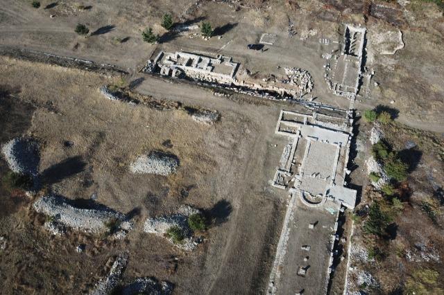 In der antiken Stadt Bylis wurde eine  große Wasserzisterne   entdeckt