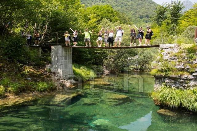 Thethi Ulusal Parkı ziyaret edenler sayısı gittikçe artmaktadır