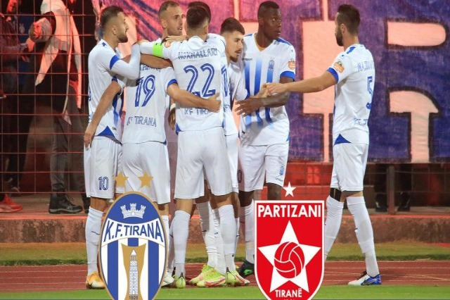 Tirana wins in the first derby over Partizani 1-0