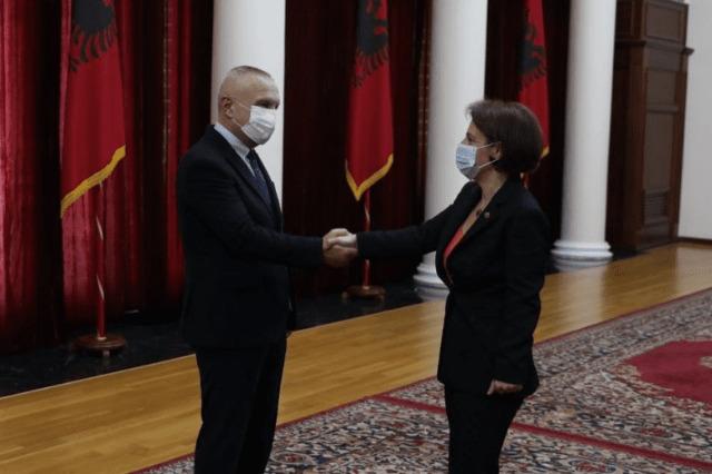 Cumhurbaşkanı Meta, Kosova Başbakan Yardımcısı ve Dışişleri Bakanı Gërvalla ile görüştü