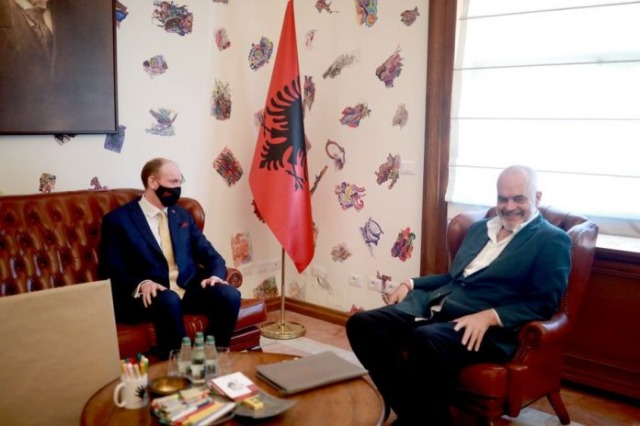 British Ambassador meeting with Rama: Cooperation for priority sectors on focus