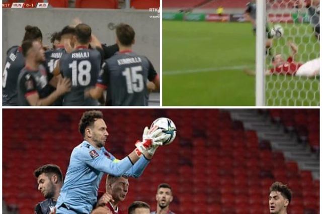 Albania wins over Hungary 1-0