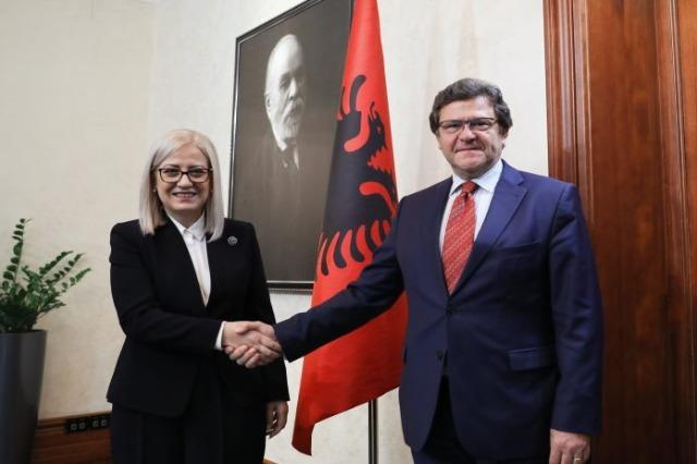 Speaker Nikolla met with Cheif negotiator, Zef Mazi