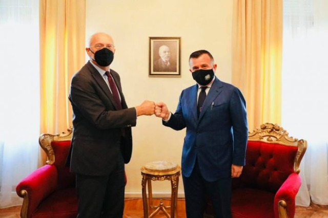 Balla receives the German ambassador: A new phase of cooperation with the opposition