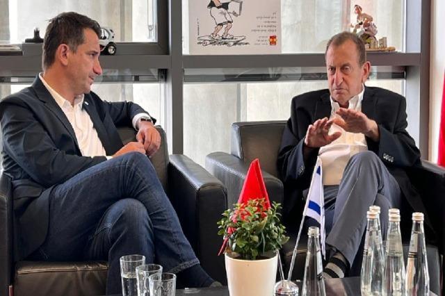 Veliaj meets with the mayor of Tel Aviv in Israel and promotes Tirana in MuniWorld 2021