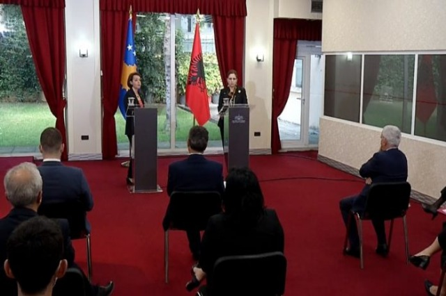 """Minister Xhaçka: """"By supporting Kosovo, we support Albania and the Albanians''"""