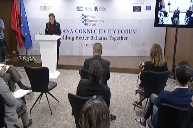 Xhaçka at Tirana Connectivity Forum: 'Open Balkans', the only way to develop the region