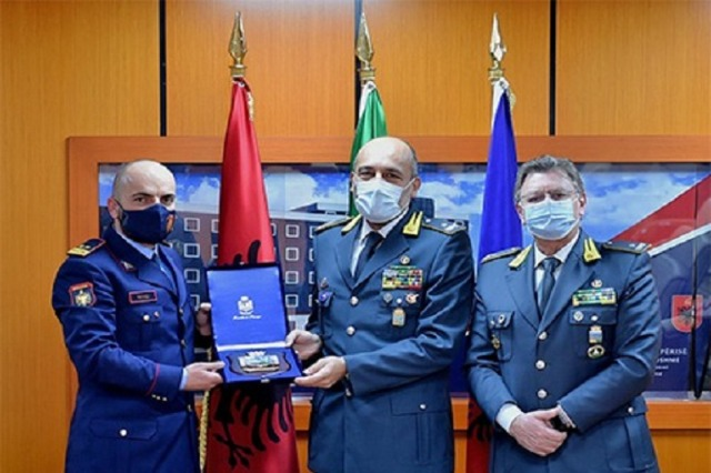 Director General of Police Gledis Nano receives Guardia di Finanza delegation: Boosting cooperation on focus