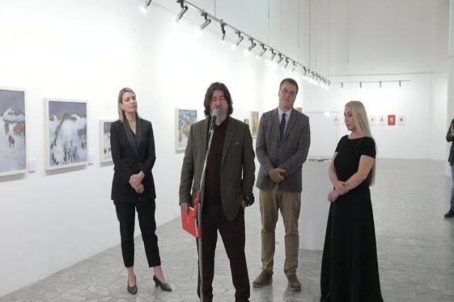 L'exposition d'Ismail Lulani, un trésor précieux de la peinture albanaise, s'ouvre