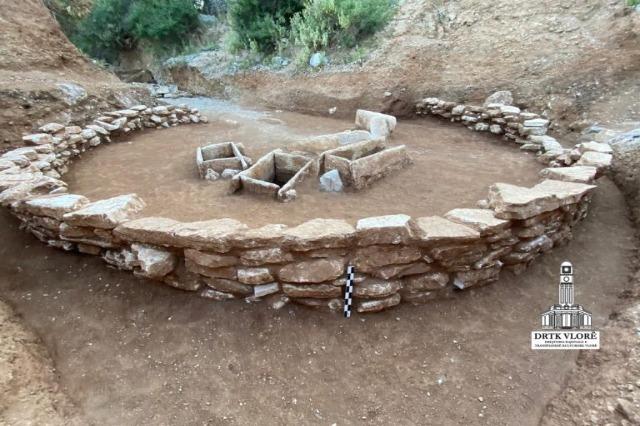 Ένα νεκροταφείο της Εποχής του Χαλκού ανακαλύφθηκε στη Himara