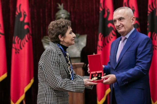 "President Meta awards ""Grand Master"" to the outstanding poet Zhuliana Jorganxhi"