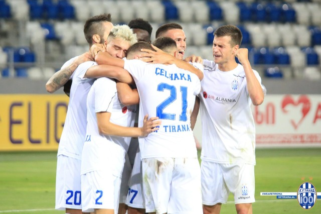 """Tirana soccer team defeated in the """"Play-Off"""" of the Europa League by Young Boys 3-0"""