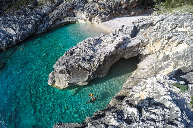 Karaburun peninsula, one of the most frequented tourist attractions of foreign and domestic tourists