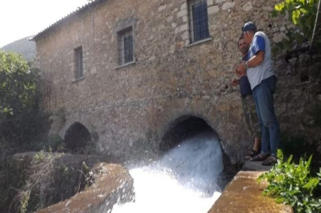 Ali Pasha Mill in Tepelena still grinds wheat like 200 years ago