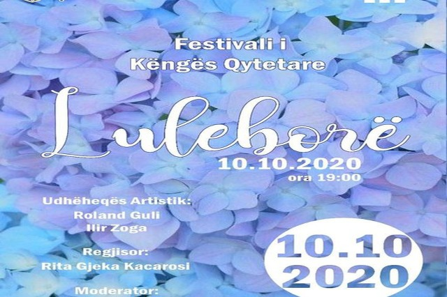"""The festival of the urban song """"Luleborë"""" held its fifth edition"""